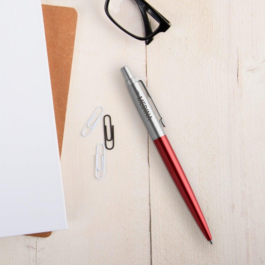 Individuellbesonders - Parker Jotter Kugelschreiber Linkshänder (Rot) - Onlineshop YourSurprise