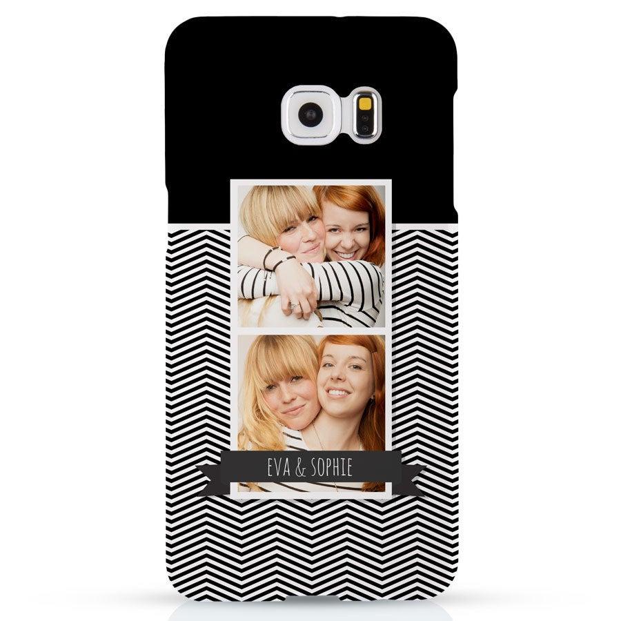 Handyhüllen - Samung Galaxy S6 Edge+ Hülle -  Fotocase rundum bedruckt