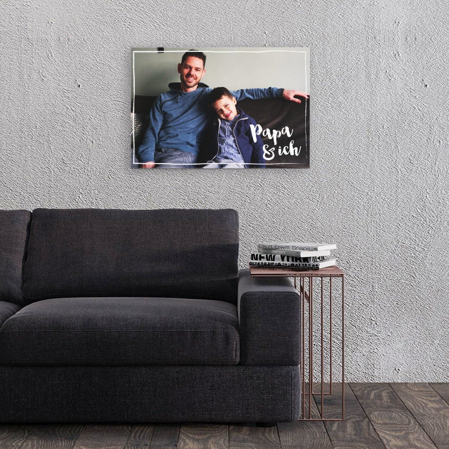 Fotoleinwand Vatertag - 60x40cm