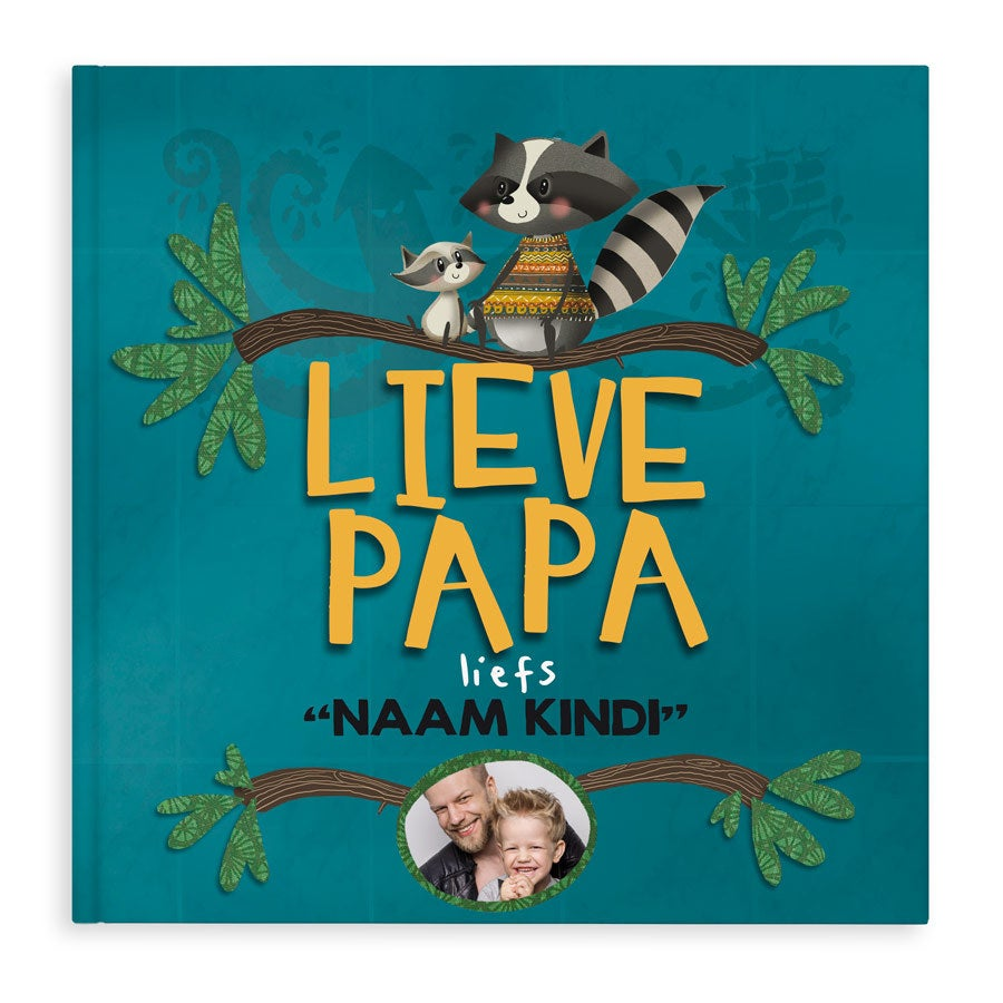 Boek met naam - Lieve Papa - Hardcover