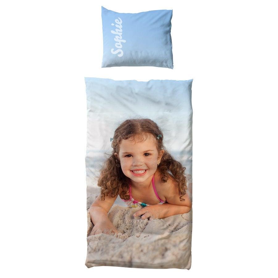 Decke- und Kissenbezug  - 100x150cm - Baumwolle