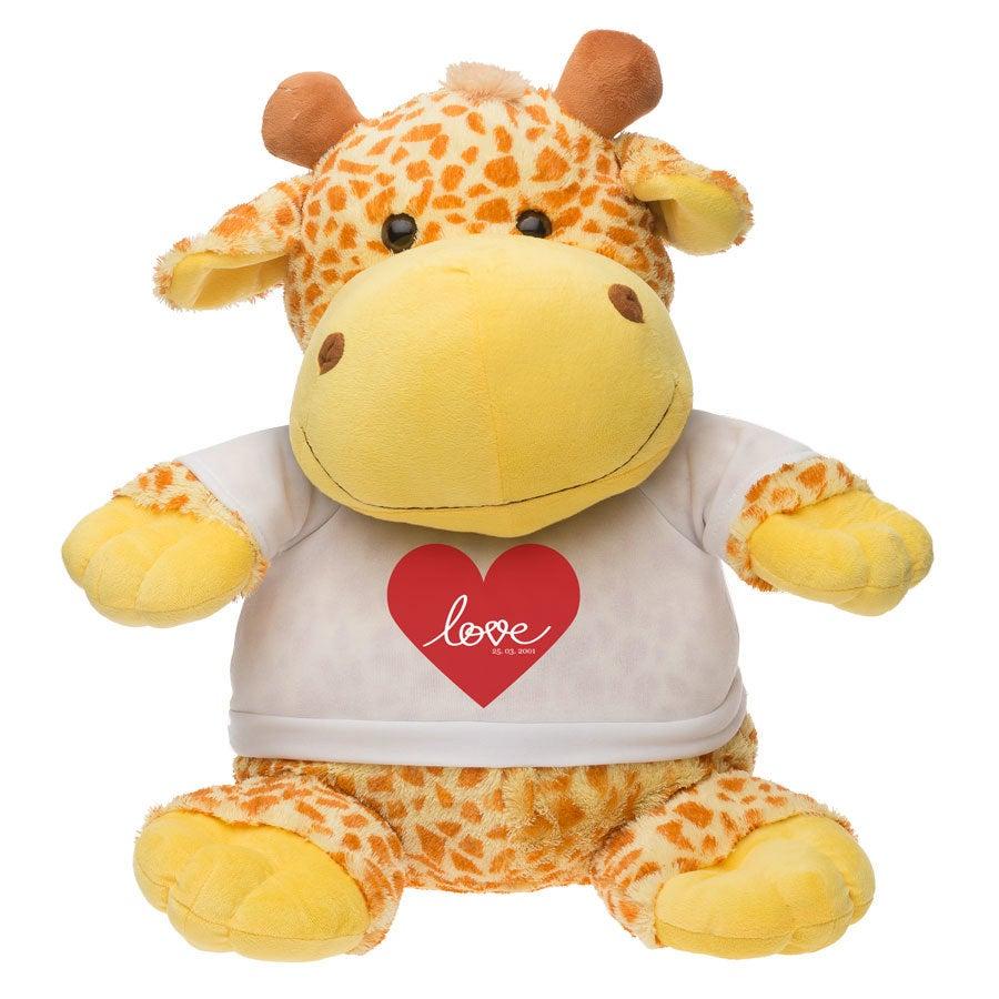 Henriette la Girafe Géante