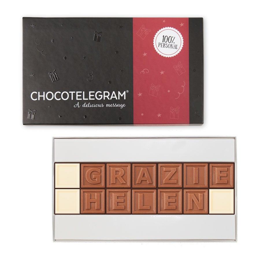 Telegramma di cioccolato - 14 caratteri