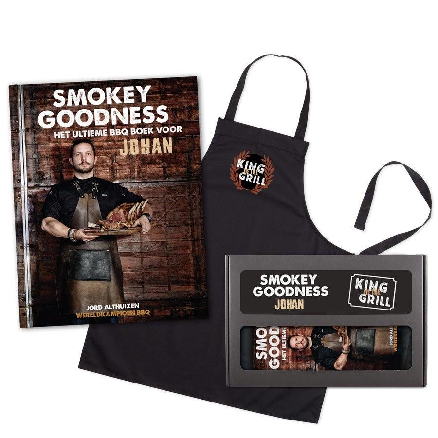 Boek met naam - Smokey Goodness - BBQ pakket