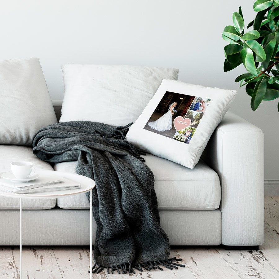 Love Throw tyyny - Suuri ei täytettävää - Valkoinen