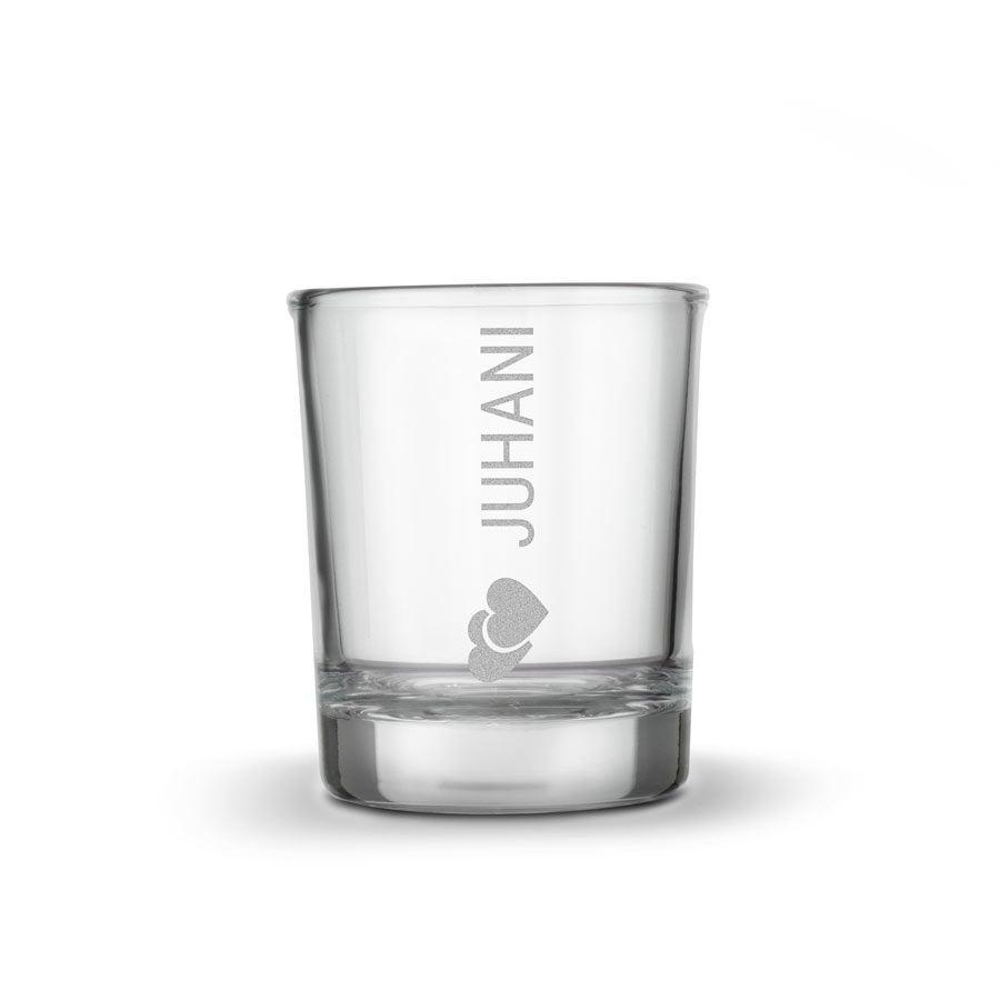 Személyre szabott rövid italos pohár