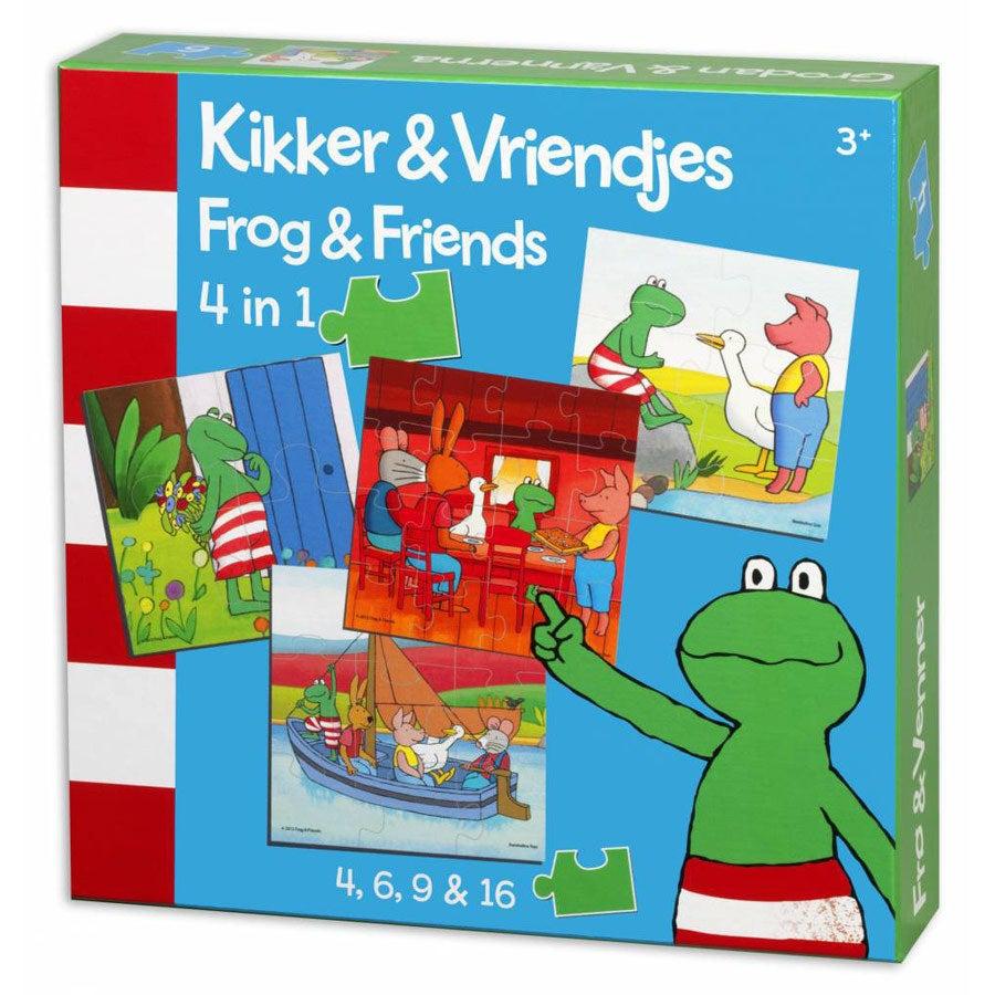 Kikker - Puzzel 4-in-1