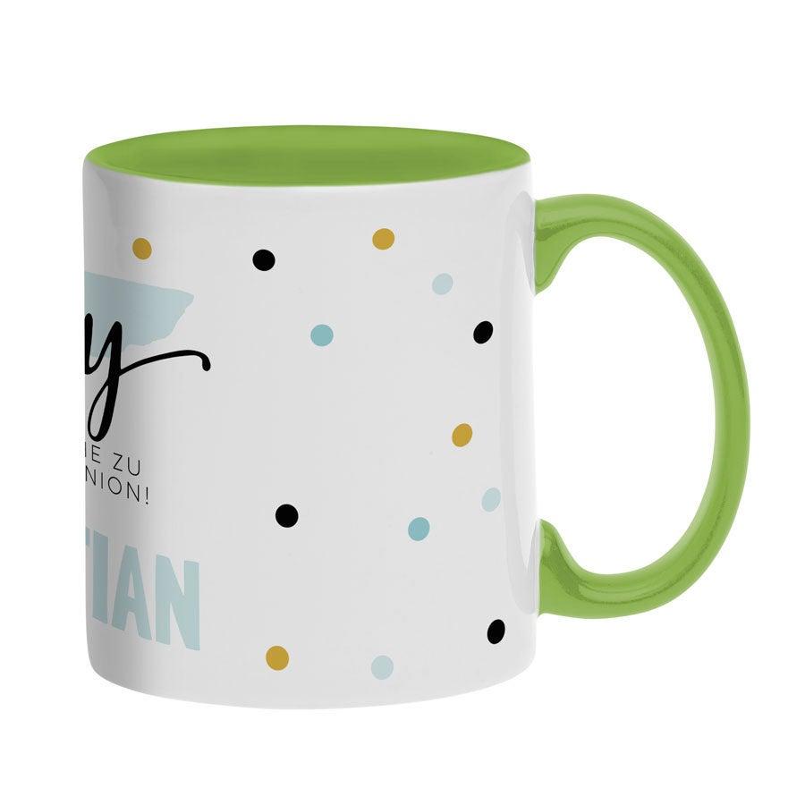 Tassen beschriften - Tasse mit Namen - Grün
