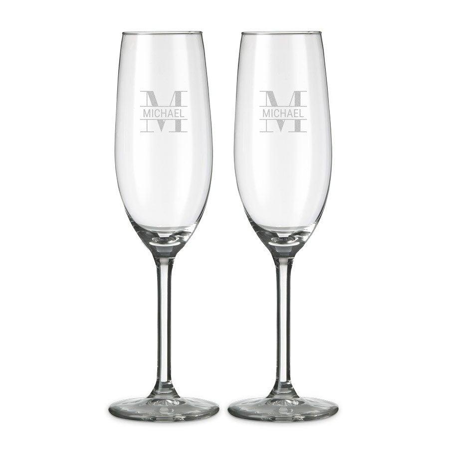 Champagneglas - 2 stuks