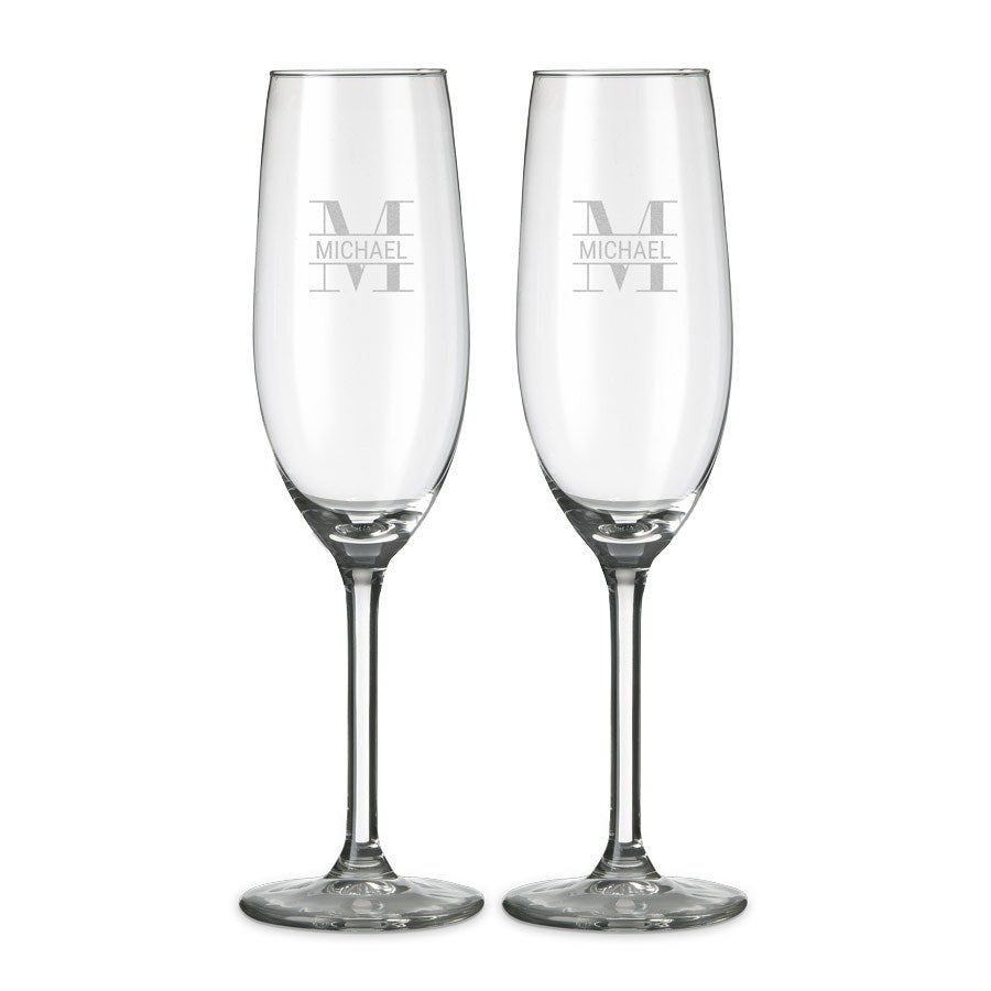 Glass - Champagne (set of 2)