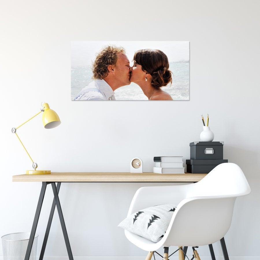 Foto op aluminium afdrukken - Geborsteld (ChromaLuxe) - 80 x 40 cm