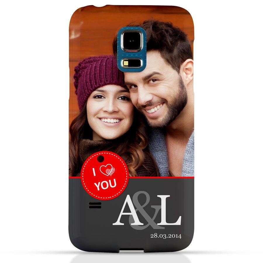 Handyhüllen - Samsung Galaxy S5 mini - Fotocase rundum bedruckt