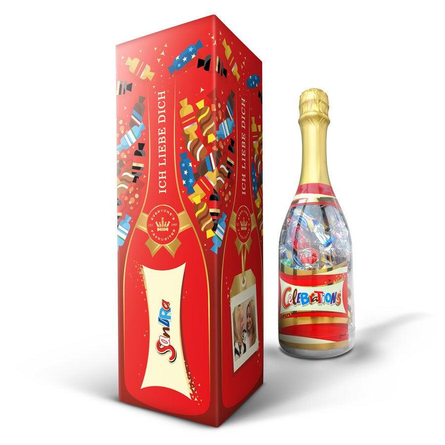 Individuellleckereien - Celebrations Flasche - Onlineshop YourSurprise