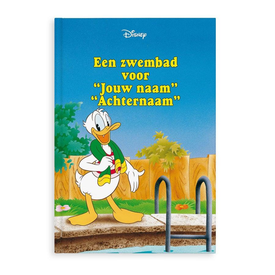 Boek met naam - Disney Donald Duck - Hardcover