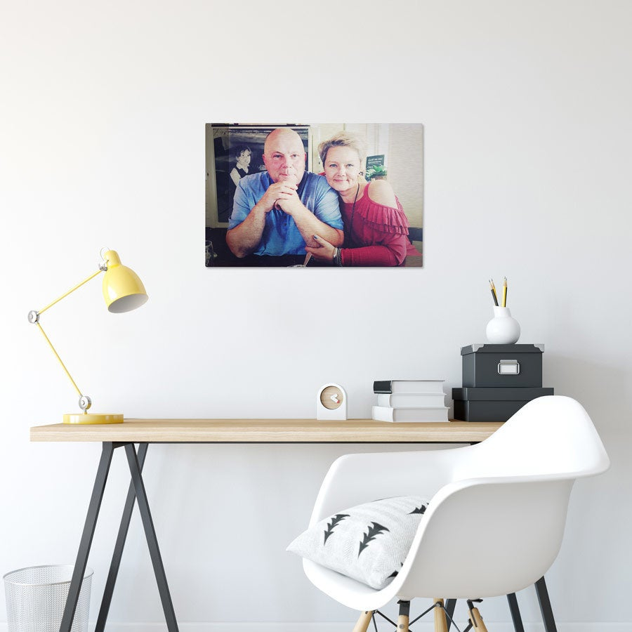 Foto op aluminium afdrukken - Geborsteld (ChromaLuxe) - 60 x 40 cm