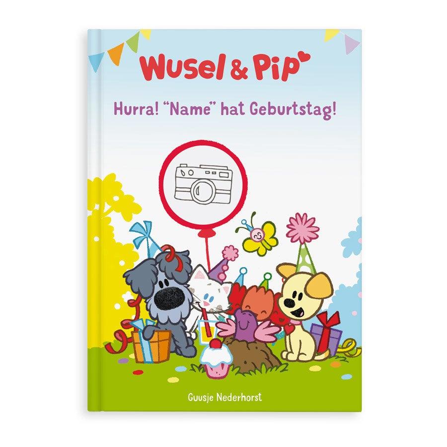 Kinderbuch - Wusel & Pip - Geburtsdag - XL (Hardcover)