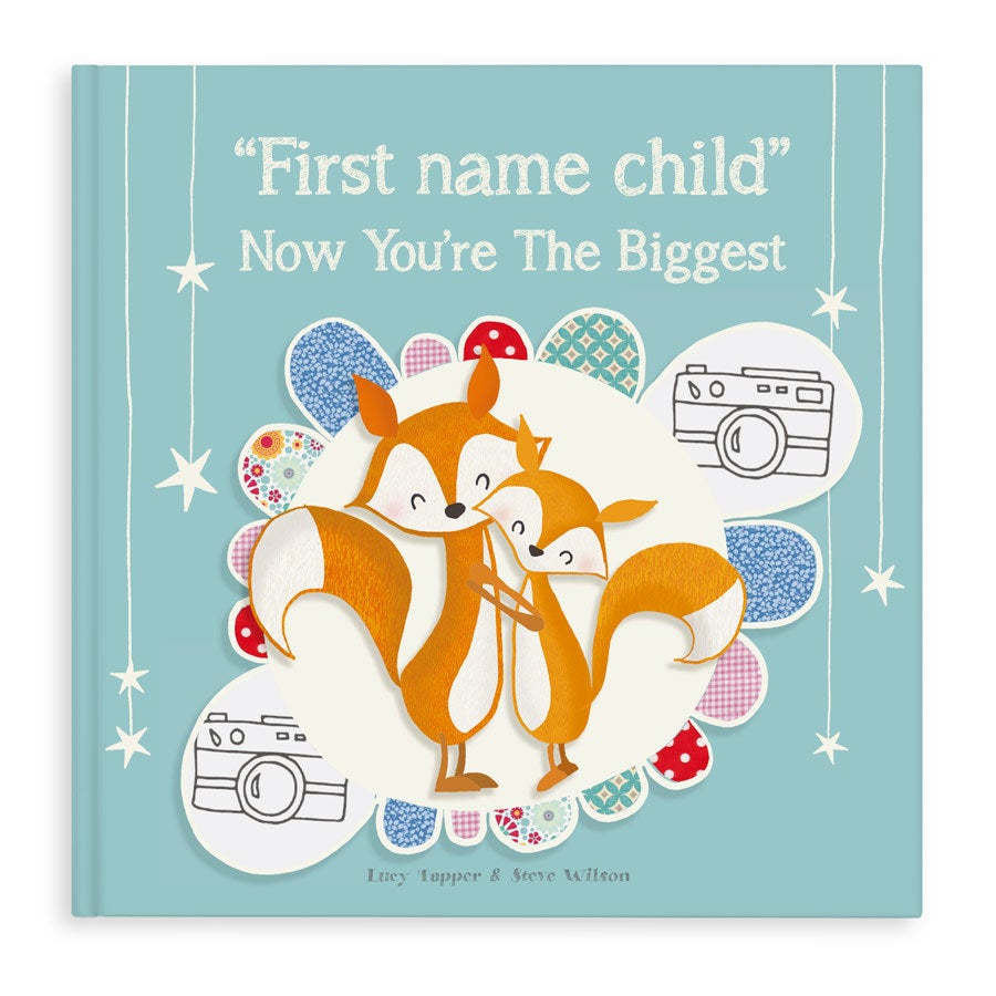 Book with name - Now you're the biggest - Hardcover
