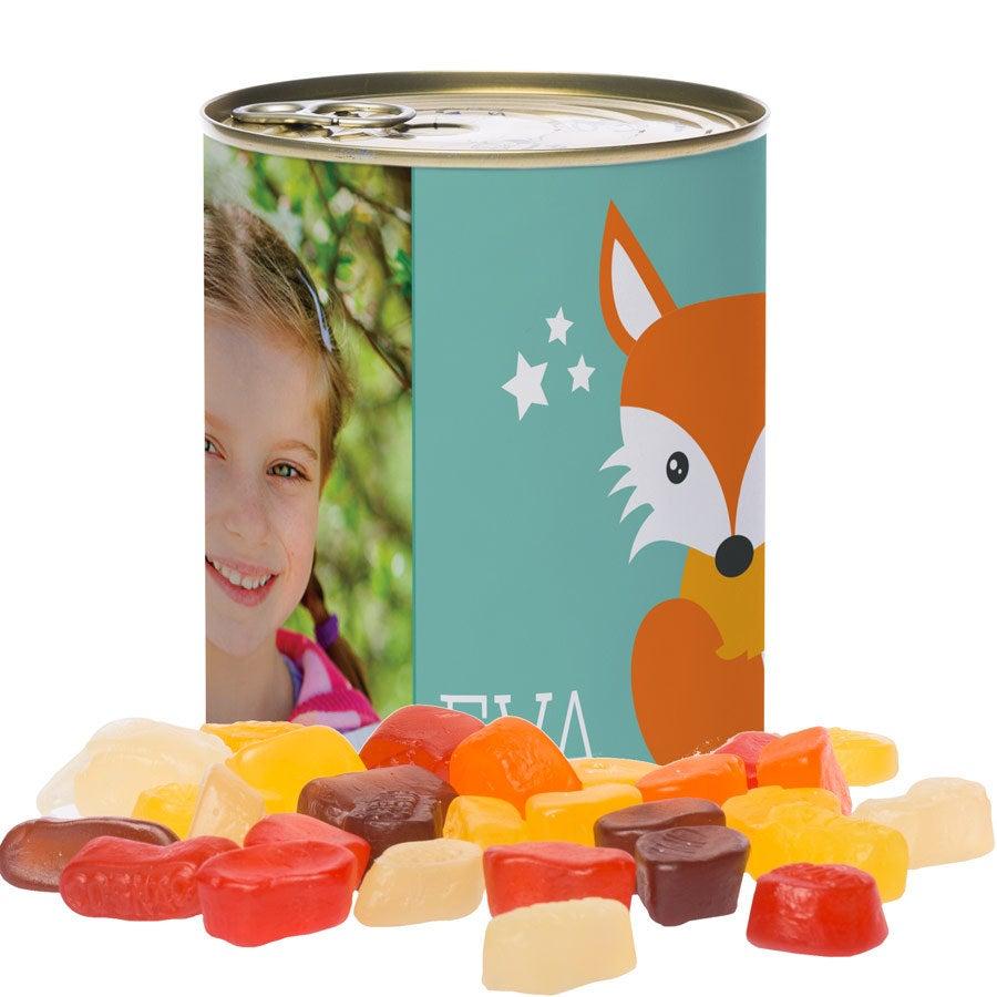 Tin av søtsaker - Winegums