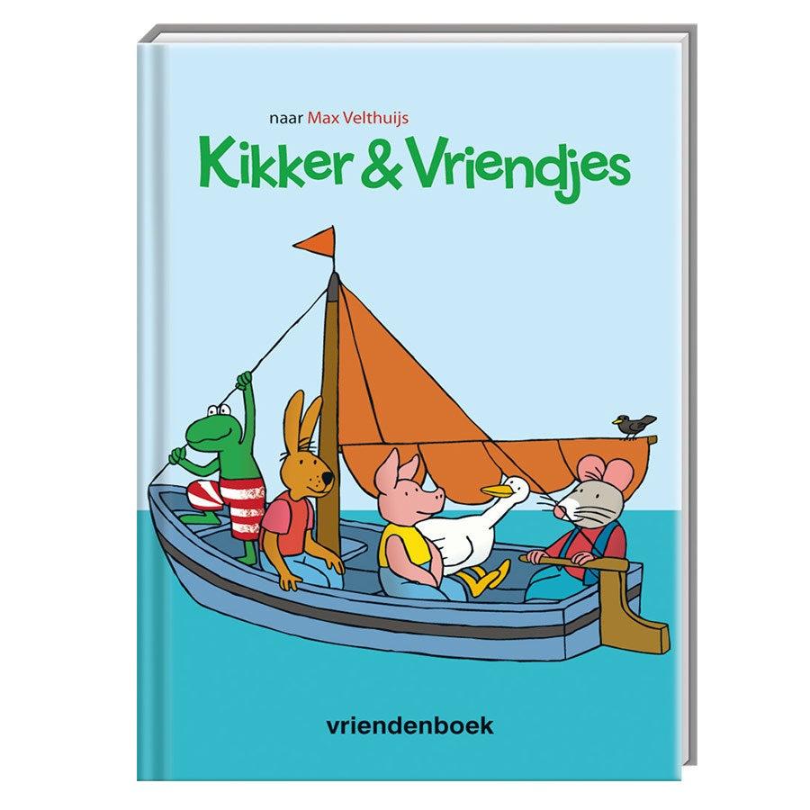 Kikker vriendenboekje