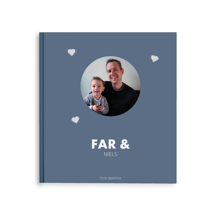 Billedalbum - Far og mig/os - M - Hardcover - 40 sider