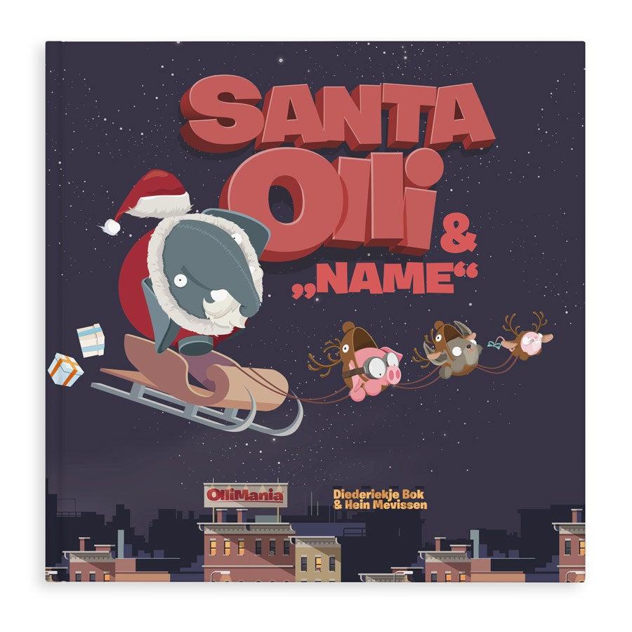 Buch mit Namen - Santa Olii XXL - Hardcover