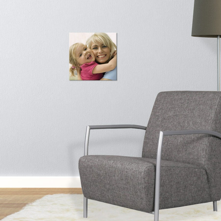 Puinen valokuvataulu (30x30cm)
