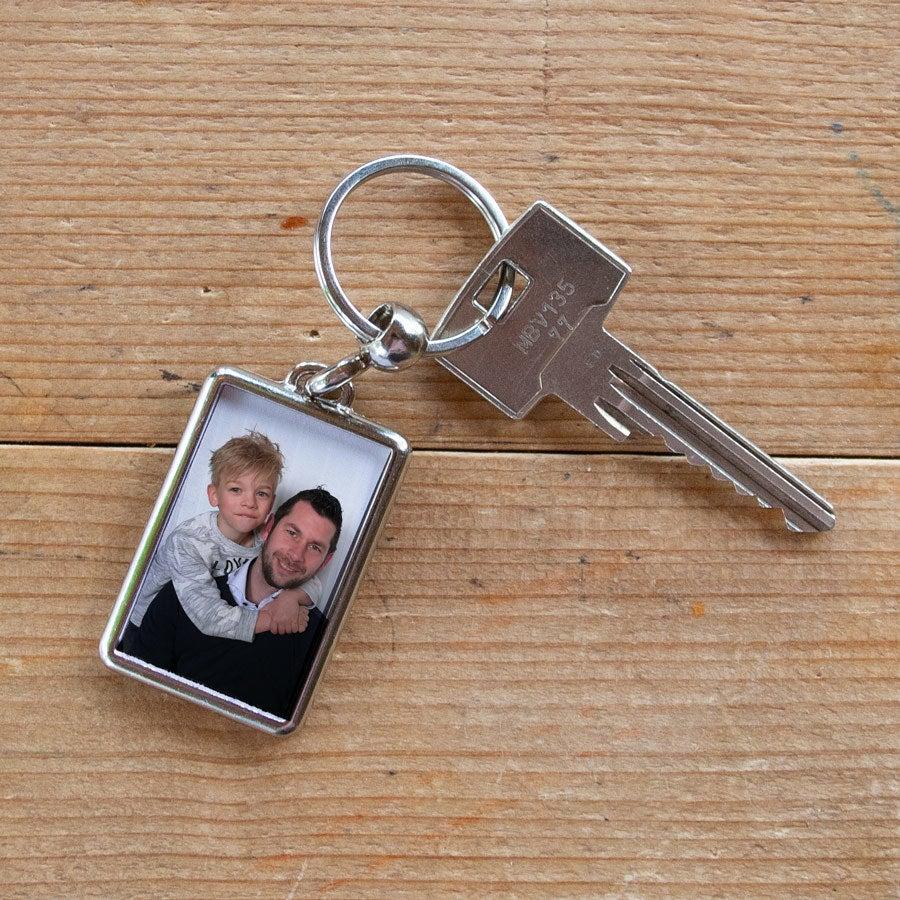 Nyckelring med foto - Farsdag