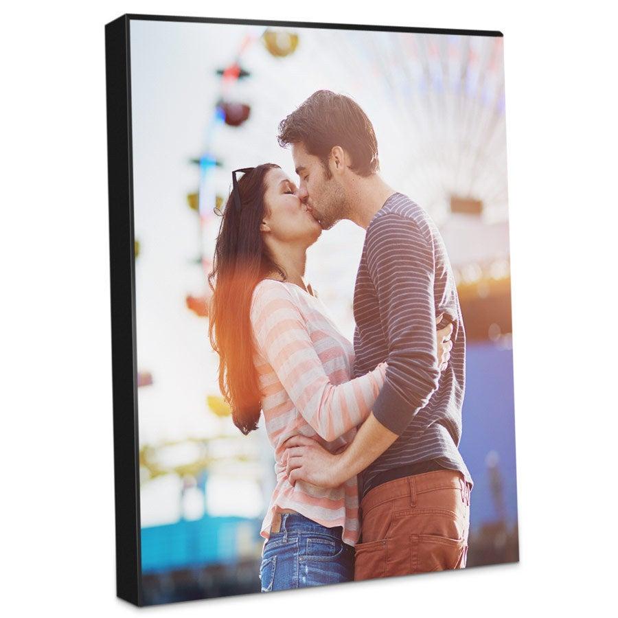 Foto auf Holz - Platte Chromaluxe 20x30