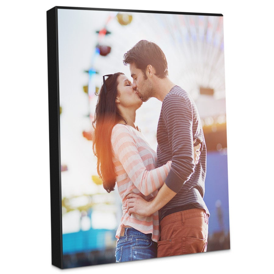 ChromaLuxe - Tableau photo sur bois vertical - 20 x 30 cm