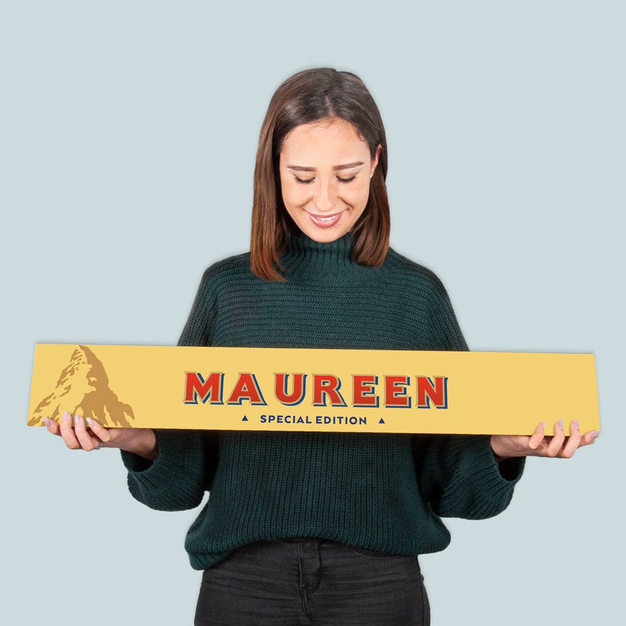 XXL Toblerone chocolate bar - 4,5 kg