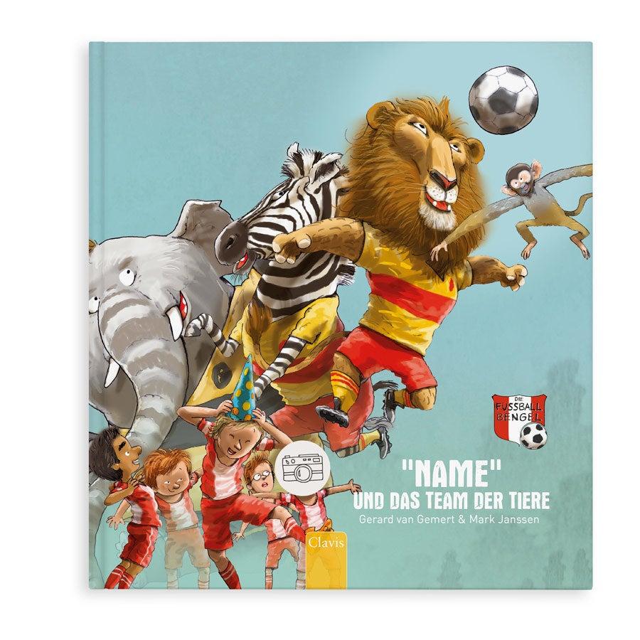 Buch mit Namen - Du und das Team der Tiere (Softcover)