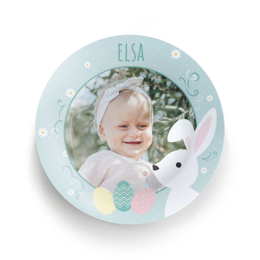 Easter plate