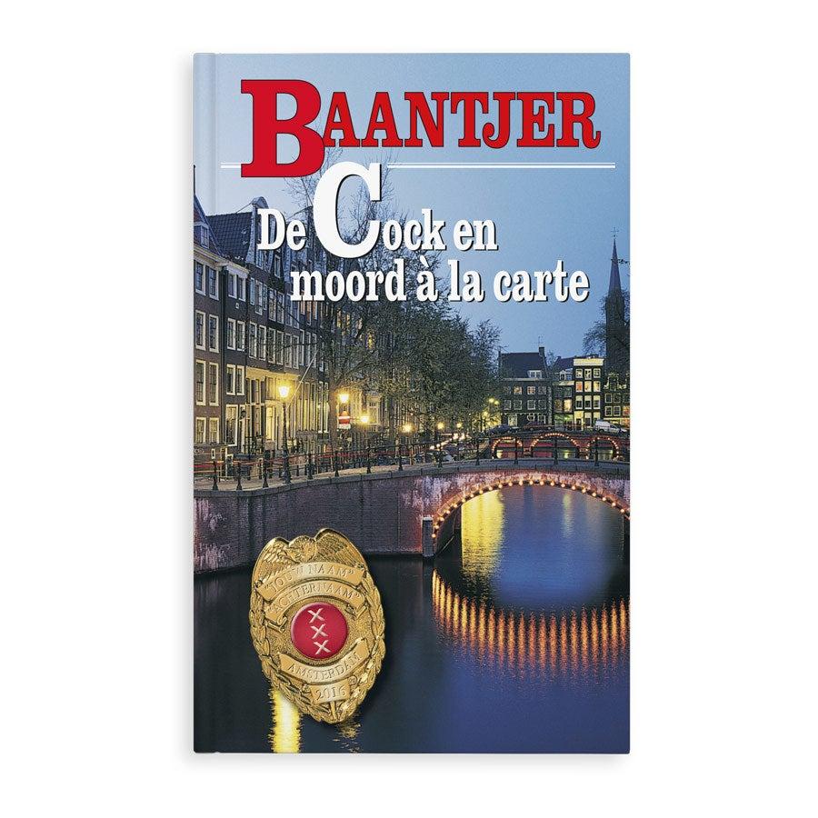 Boek met naam - Baantjer - Moord a la carte - Softcover