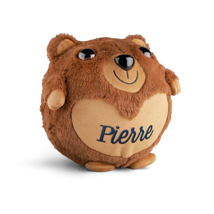 Ours en peluche gonflable avec prénom
