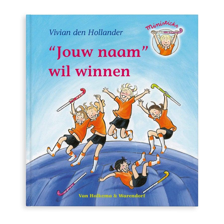 Boek met naam en foto - Saar wil winnen - Softcover