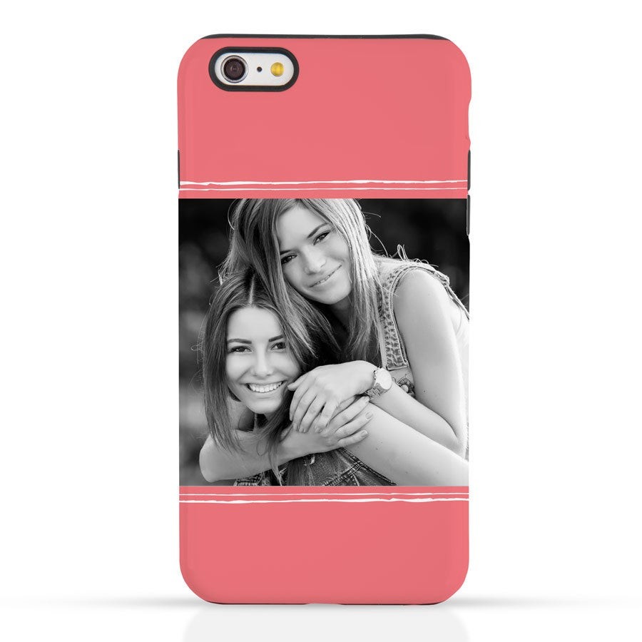 Telefoonhoesje bedrukken - iPhone 6 plus - Tough case