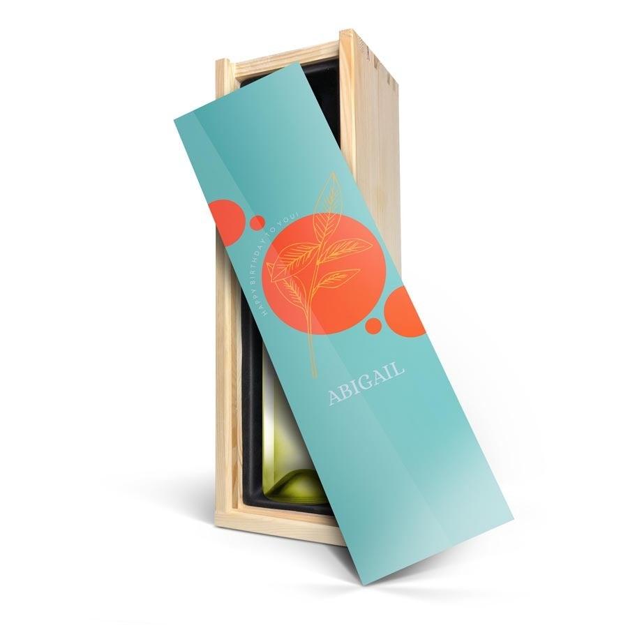 Víno v krabici s fotografiou - Riondo Pinot Grigio