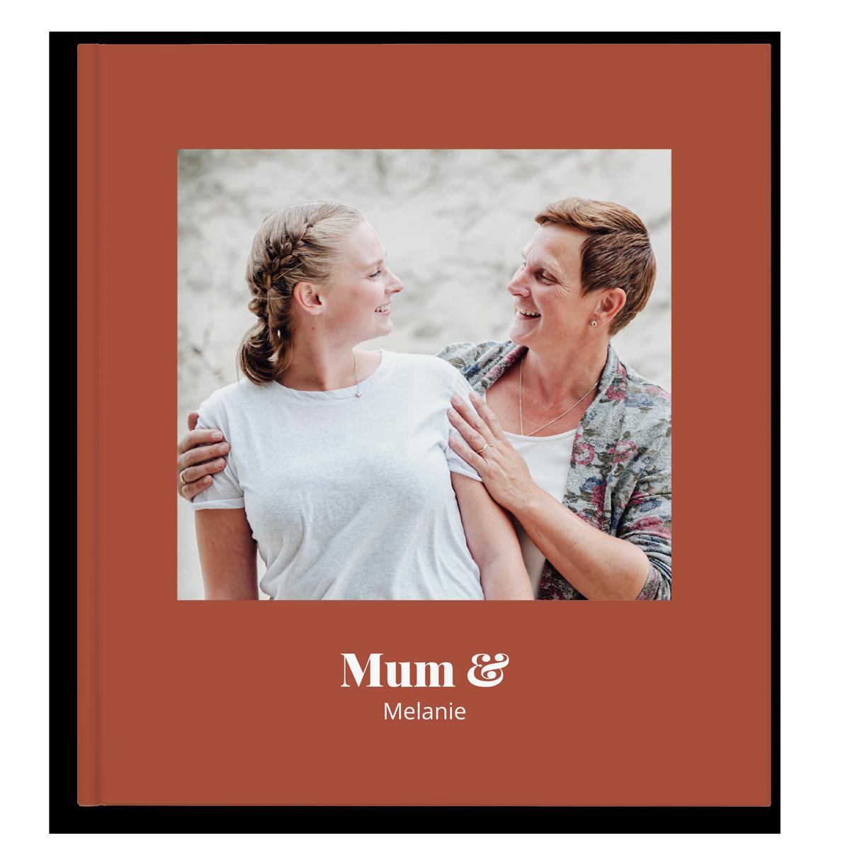 Fotoboek maken - Mama & ik/wij - XL - Hardcover - 40 pagina's