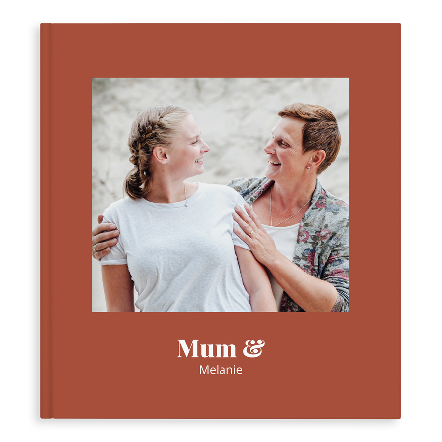 Fotobok - Mamma & jag/vi - XL - Hardcover - 40 sidor