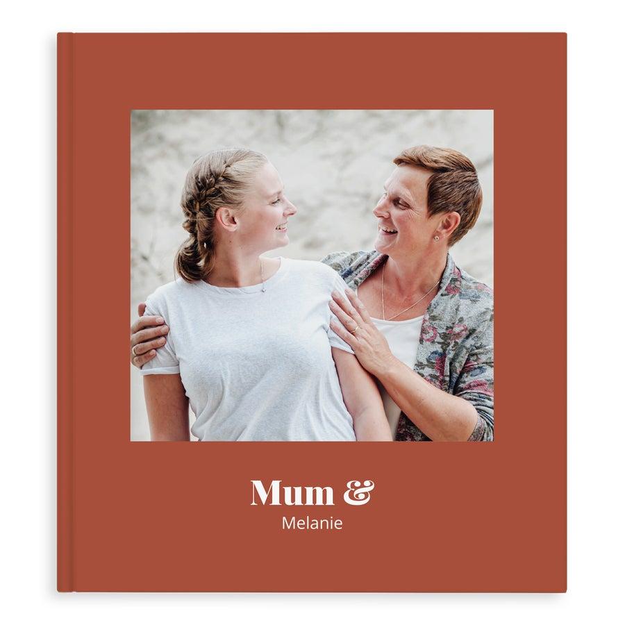Momenten fotoboek - Mama & ik/wij - XL - Hardcover - 40 pagina's