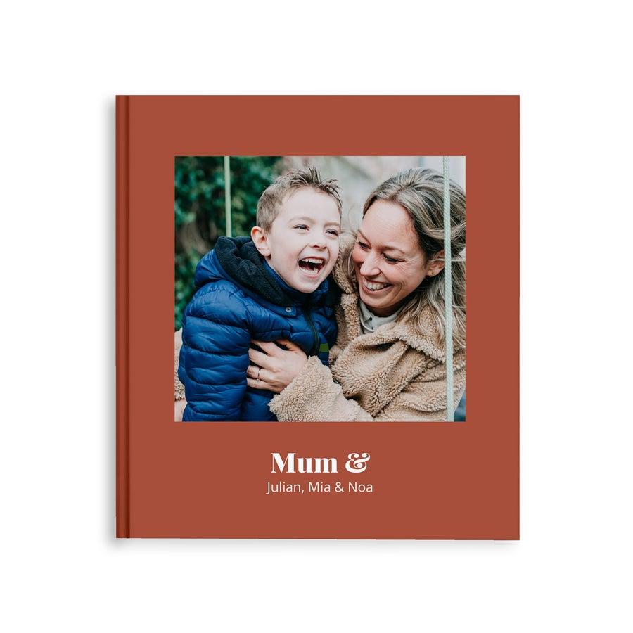 Album de fotos - Mãe e eu - M - Capa Dura - 40 páginas