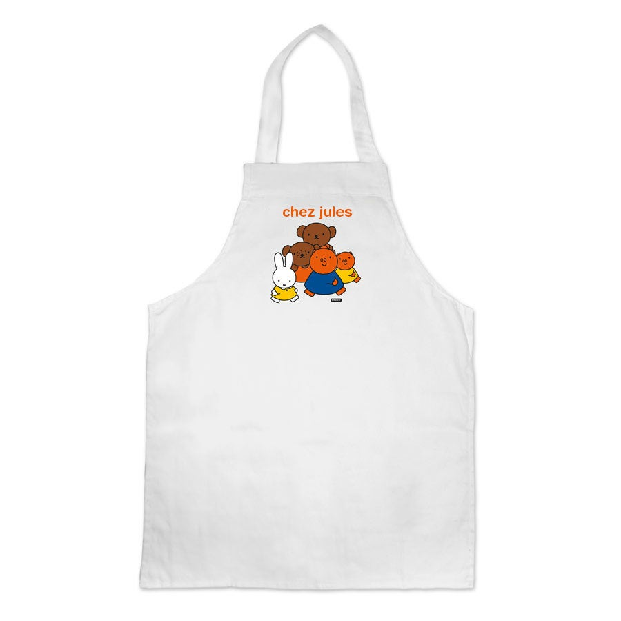 Tablier enfant Miffy - Blanc