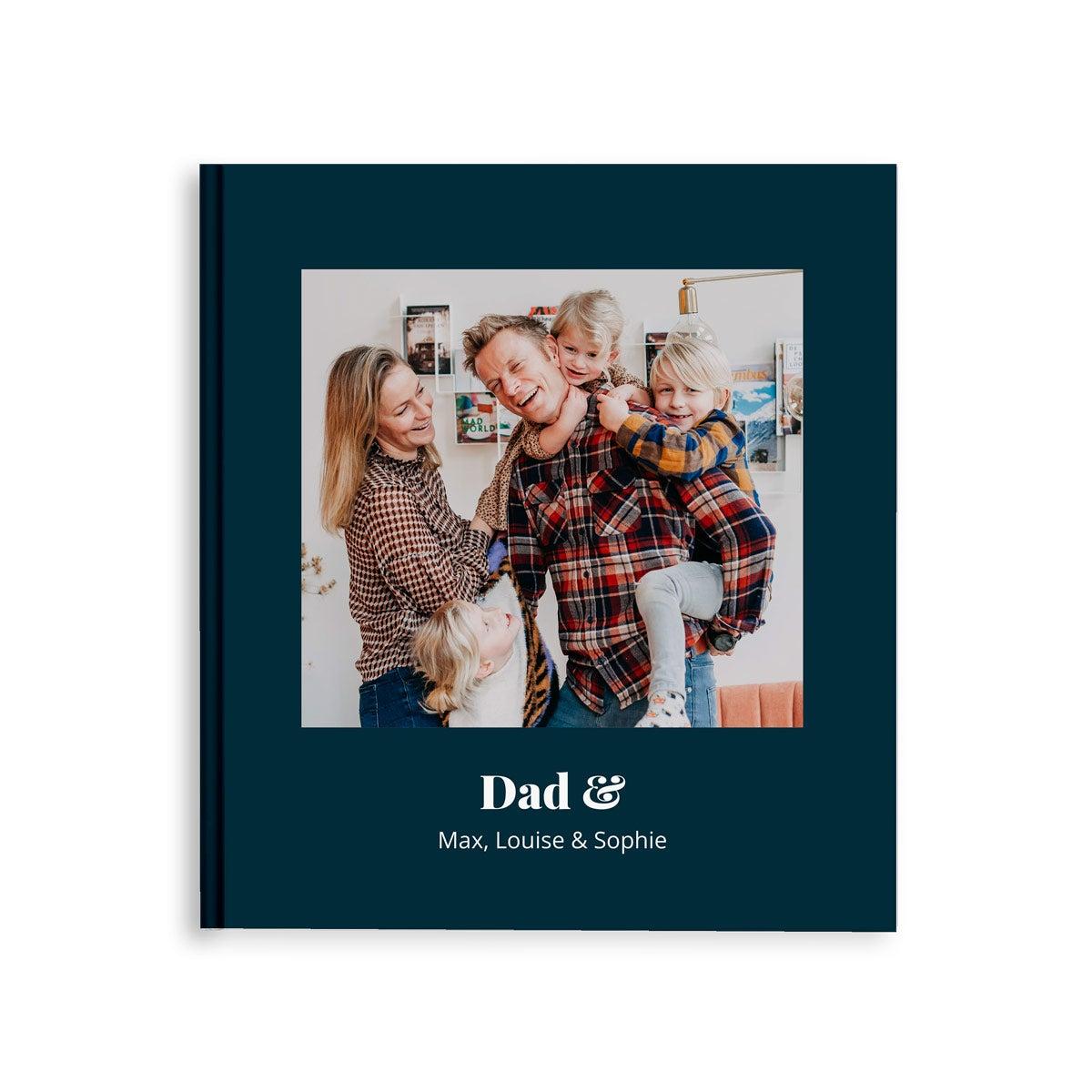 Fotoboek maken - Papa & ik/wij - M - Hardcover - 40 pagina's