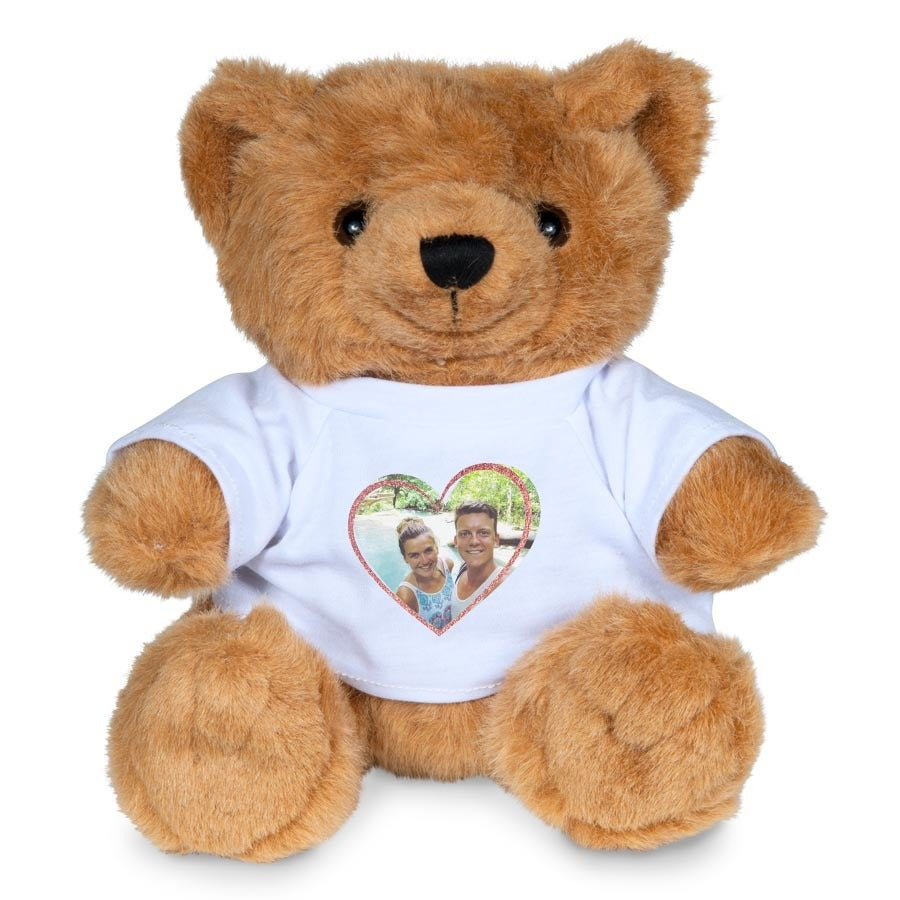 Peluche con camiseta personalizada - Bonny Bear