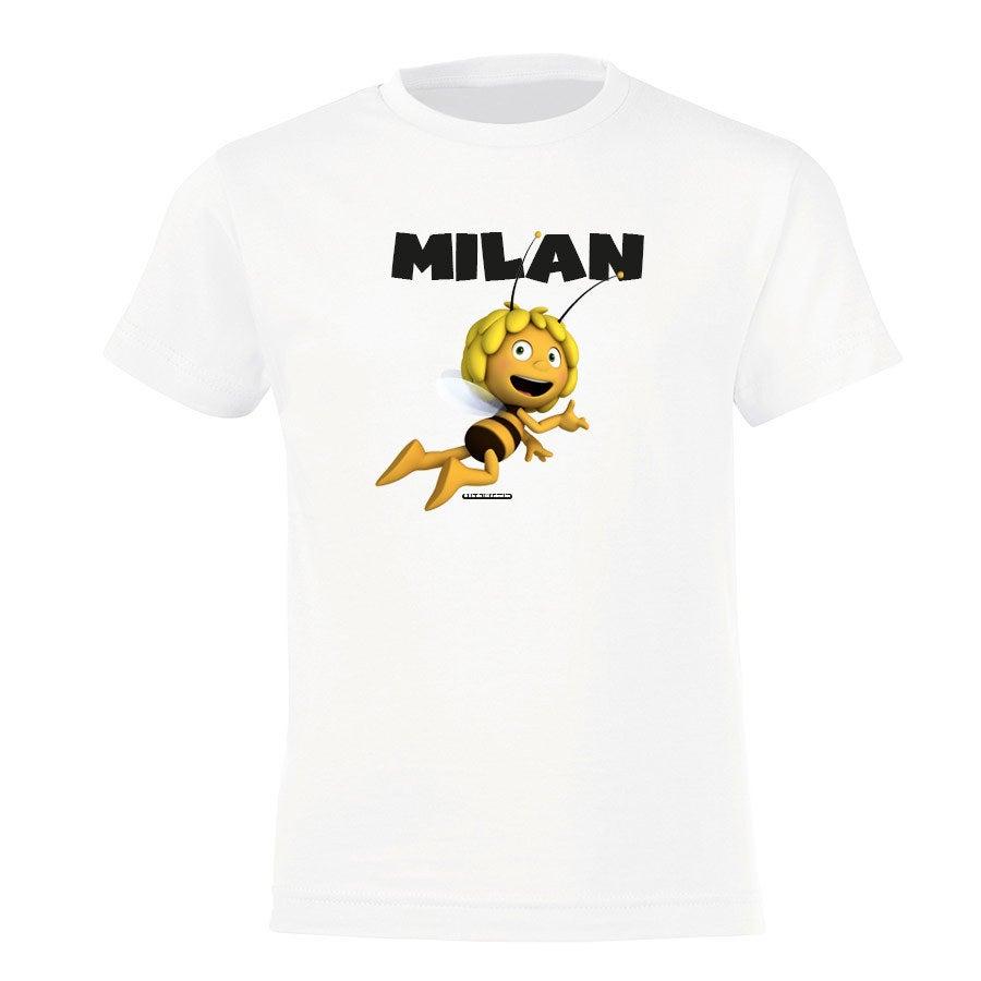 Maya T-shirt - Wit - 4 jaar