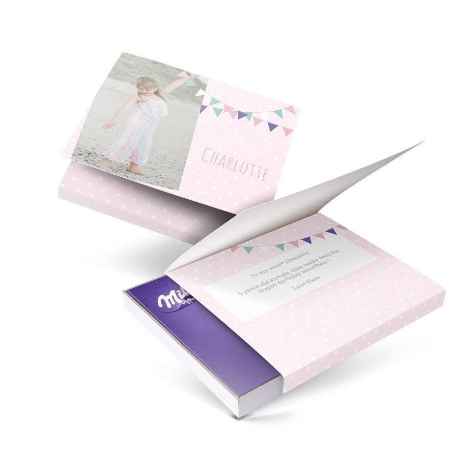 Chocobox - szeretem Milka-t! - Születésnap - virág 110 gramm