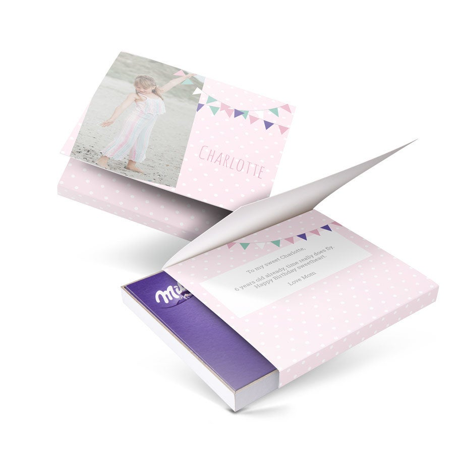 I love Milka! gift box - Birthday - 110 grams