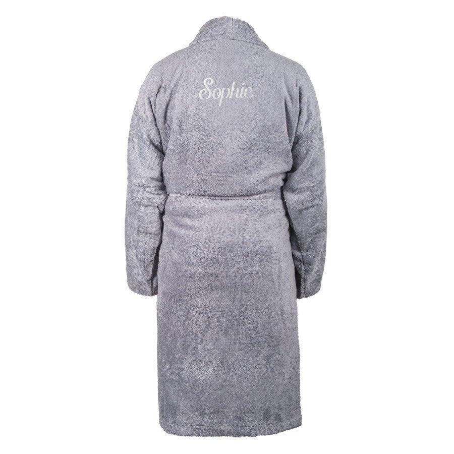 Bathrobe for Women - Grey L/XL