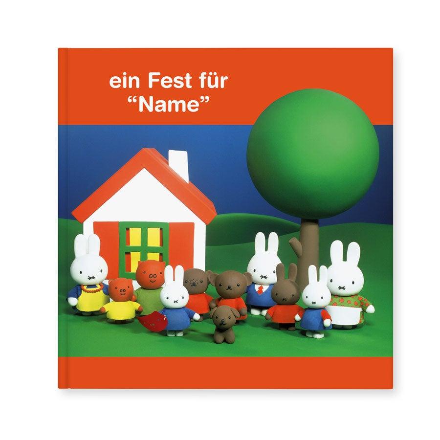 Buch mit Namen - Miffy Ein Fest für dich (Hardcover)