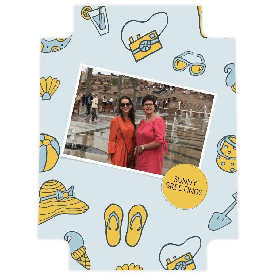 Princess photo backpack - extra inlay